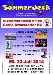 SommerJeck in Bonn